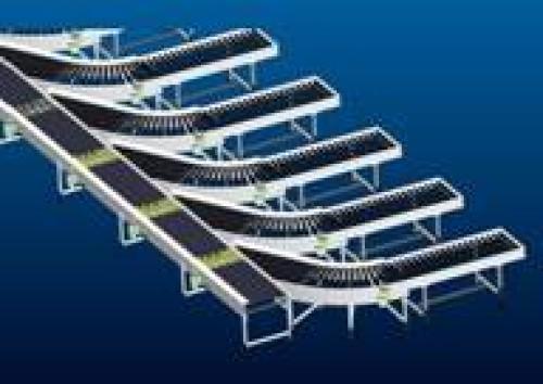 Carton conveyor kick-offs